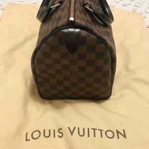 Louis Vuitton speedy ebony